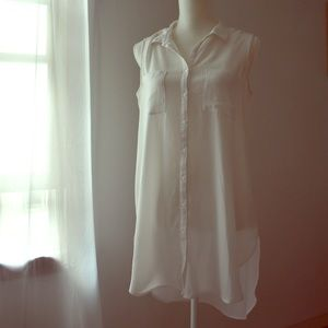 DR2 button up tunic Small